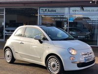 USED 2011 61 FIAT 500 1.2 LOUNGE 3d 69 BHP Free MOT for Life