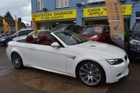 2009 BMW M3  4.0 CONVERTIBLE 2d DCT AUTO 414 BHP LOW MILEAGE £SOLD