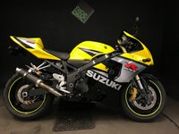 2006 SUZUKI GSXR 750 K5. 2005. FSH. SEAT AND COWL 31K. RECENT SERVICE AND TYRES. TIDY £3499.00