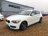 2014 BMW 1 SERIES 1.6 116I SPORT 5d AUTO 135 BHP £10990.00