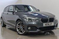 2015 BMW 1 SERIES 2.0 120D M SPORT 5d AUTO 188 BHP £16590.00