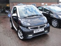 USED 2014 14 SMART FORTWO CABRIO 1.0 EDITION 21 MHD 2d AUTO 71 BHP
