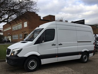 2015 MERCEDES-BENZ SPRINTER 2.1 313CDI MWB HIGH ROOF 130BHP. 65,000 MILES. 1 OWNER. FSH £12395.00