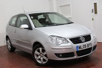 2009 VOLKSWAGEN POLO 1.4 MATCH 3d AUTO 79 BHP £5295.00