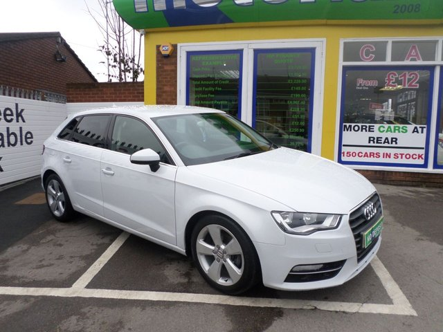 USED 2014 63 AUDI A3 2.0 TDI SPORT 5d 148 BHP .. CALL 01543 379066 FOR MORE INFO