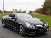 2012 MERCEDES-BENZ E CLASS 2.1 E220 CDI BLUEEFFICIENCY SPORT 2d AUTO 170 BHP £13990.00
