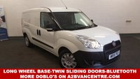 USED 2015 15 FIAT DOBLO 1.6 16V MULTIJET Twin Sliding Doors LWB 105 BHP with Bluetooth Phone Connectivity *Over The Phone Low Rate Finance Available*   *UK Delivery Can Also Be Arranged*           ___________       Call us on 01709 866668 or Send us a Text on 07462 824433