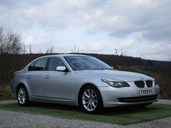 2009 BMW 5 SERIES 3.0 525D SE 4d AUTO 195 BHP £7300.00