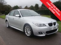 USED 2008 58 BMW 5 SERIES 2.0 520D M SPORT 4d 175 BHP