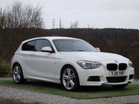 USED 2015 15 BMW 1 SERIES 2.0 118D M SPORT 3d AUTO 141 BHP