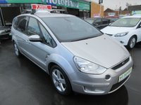 USED 2007 07 FORD S-MAX 2.0 TITANIUM TDCI 5d 143 BHP NO DEPOSIT DEALS AVAILABLE