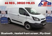 USED 2016 66 FORD TRANSIT CUSTOM 2.2 290 100 BHP + Bluetooth Phone and Media Connectivity *Over The Phone Low Rate Finance Available*   *UK Delivery Can Also Be Arranged*           ___________       Call us on 01709 866668 or Send us a Text on 07462 824433