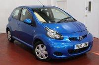 2010 TOYOTA AYGO 1.0 BLUE VVT-I 5d 67 BHP £3495.00