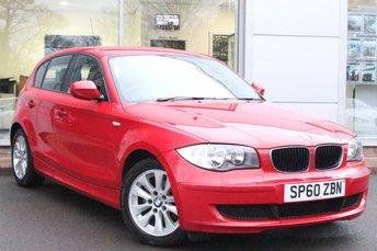 2010 BMW 1 SERIES 2.0 116D ES 5d 114 BHP £4995.00
