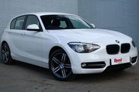USED 2014 64 BMW 1 SERIES 2.0 116D SPORT 5d 114 BHP ALPINE WHITE+AUTO WIPERS/LIGHT