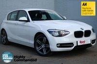 USED 2014 64 BMW 1 SERIES 2.0 116D SPORT 5d 114 BHP ALPINE WHITE+AUTO WIPERS/LIGHT