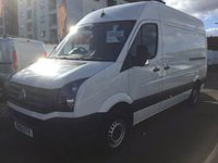 2013 VOLKSWAGEN CRAFTER 2.0 CR35 MWB TDI 1d 1 PREVIOUS OWNER  £9300.00