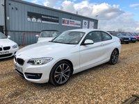 2015 BMW 2 SERIES 2.0 220D SPORT 2d AUTO 188 BHP £15990.00
