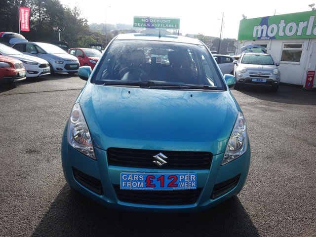 USED 2012 62 SUZUKI SPLASH 1.0 SZ2 5d 68 BHP **CLICK AND COLLECT ON YOUR NEXT CAR**