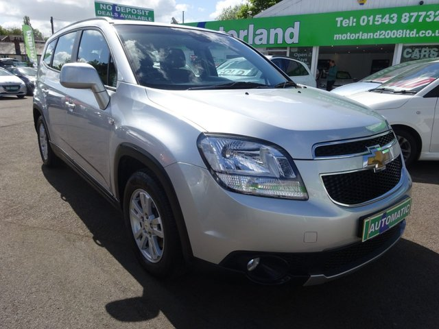 USED 2013 62 CHEVROLET ORLANDO 1.8 LT 5d AUTO 141 BHP **ONLY 24,000 MILES FROM NEW **AUTOMATIC**FULL MAIN DEALER SERVICE HISTORY**