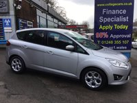 USED 2012 62 FORD C-MAX 1.6 ZETEC TDCI 5d 114 BHP, ONLY 46000 MILES ***GREAT FINANCE DEALS AVAILABLE***