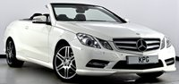 USED 2012 12 MERCEDES-BENZ E CLASS 3.0 E350 CDI BlueEFFICIENCY Sport 7G-Tronic 2dr COMAND Nav, Air Scarf, Xenons