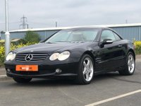 USED 2004 53 MERCEDES-BENZ SL 5.0 SL500 2dr AUTO LAST OWNER SINCE 2006 ONLY 22K