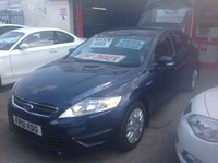 USED 2011 61 FORD MONDEO 1.6 EDGE TDCI 5d 114 BHP One owner 66000 miles, low tax, great economy, family hatchback.