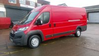 2015 CITROEN RELAY 2.2 35 HEAVY L4H2 HDI 1d 129 BHP 1 OWNER F/VOSA/PRINT/ OUT  / 2 KEYS /SAT/NAV// FREE 12 MONTHS WARRANTY COVER /// £6990.00