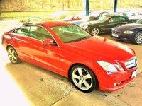 2010 MERCEDES-BENZ E CLASS 2.1 E250 CDI BLUEEFFICIENCY SE 2d 204 BHP £8975.00