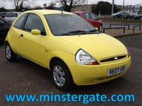 2007 FORD KA 1.3 STYLE CLIMATE 3d 69 BHP * ONLY 51000 MILES, FULL HISTORY * £1490.00