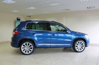 USED 2009 59 VOLKSWAGEN TIGUAN 2.0 R LINE TDI 4MOTION 5d AUTO 138 BHP CREAM LEATHER, AIR CONDITIONING, GREAT COLOUR COMBINATION, HEATED FRONT SEATS