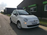 2014 FIAT 500 1.2 3 DOOR HATCH (STOP/START) ** LOW MILEAGE ** £20 ROAD TAX ** £5495.00