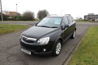 2012 VAUXHALL ANTARA 2.2 EXCLUSIV CDTI Low Mileage,Half Leather,Cruise Control £7450.00