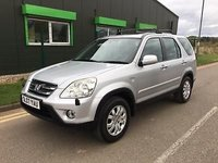 USED 2007 07 HONDA CR-V 2.0 station wagon vtec sport ** NOW SOLD ** NOW SOLD ** NOW SOLD **