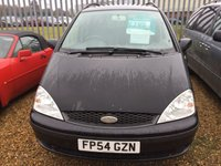 USED 2004 54 FORD GALAXY 2.8 GHIA 24V 5d AUTO 204 BHP sold as spares and repairs comes with no warranty and must be transported from garage, it has a gearbox problem