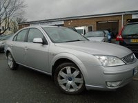 USED 2006 56 FORD MONDEO 2.0 GHIA X TDCI 5d 130 BHP GREAT VALUE DIESEL+NEW MOT ON SALE