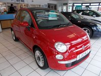 2010 FIAT 500 1.2 LOUNGE 3d 69 BHP £4995.00