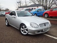 USED 2001 MERCEDES-BENZ SLK 3.2 SLK320 2d 218 BHP Only 49,000 Miles...Good Service History....Full Leather Heated Seats