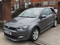 2014 VOLKSWAGEN POLO 1.2 MATCH EDITION 3d 59 BHP £6995.00