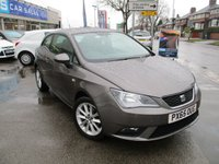 USED 2015 65 SEAT IBIZA 1.4 TOCA 3d 85 BHP One Owner & Full Seat Service History
