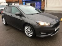 2017 FORD FOCUS 1.0 ST-LINE 5d AUTO 124 BHP £15500.00