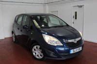 2011 VAUXHALL MERIVA 1.7 EXCLUSIV CDTI 5d AUTO 99 BHP £4495.00