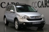USED 2009 09 HONDA CR-V 2.0 I-VTEC EX 5d 148 BHP SATELLITE NAVIGATION, FRONT AND REAR PARK DISTANCE CONTROL + REVERSE CAMERA, TWIN SUNROOFS, LEATHER MULTI FUNCTION STEERING WHEEL, CRUISE CONTROL, 18 INCH ALLOY WHEELS, HEATED ELECTRIC POWERFOLD MIRRORS, ON-BOARD COMPUTER,