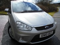 2010 FORD C-MAX 1.8 TITANIUM TDCI 5d 116 BHP ** FULLY LOADED , SATNAV, HEATED SEATS , YES ONLY 47K ** £5295.00
