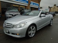 USED 2010 10 MERCEDES-BENZ E CLASS 3.0 E350 CDI BLUEEFFICIENCY SE 2d AUTO 231 BHP