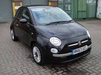 USED 2013 63 FIAT 500 1.2 LOUNGE 3d 69 BHP ANY PART EXCHANGE WELCOME, COUNTRY WIDE DELIVERY ARRANGED, HUGE SPEC