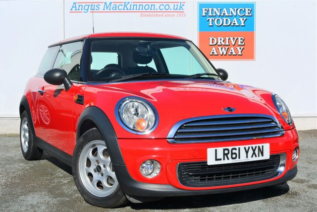 2011 61 MINI HATCH ONE 1.6 ONE 3d Great Value Ideal 1st Car with Low Mileage