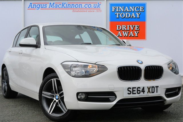 2015 64 BMW 1 SERIES 2.0 118D SPORT 5d 141 BHP