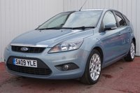 USED 2009 09 FORD FOCUS 1.6 ZETEC 5d 100 BHP SERVICE HISTORY